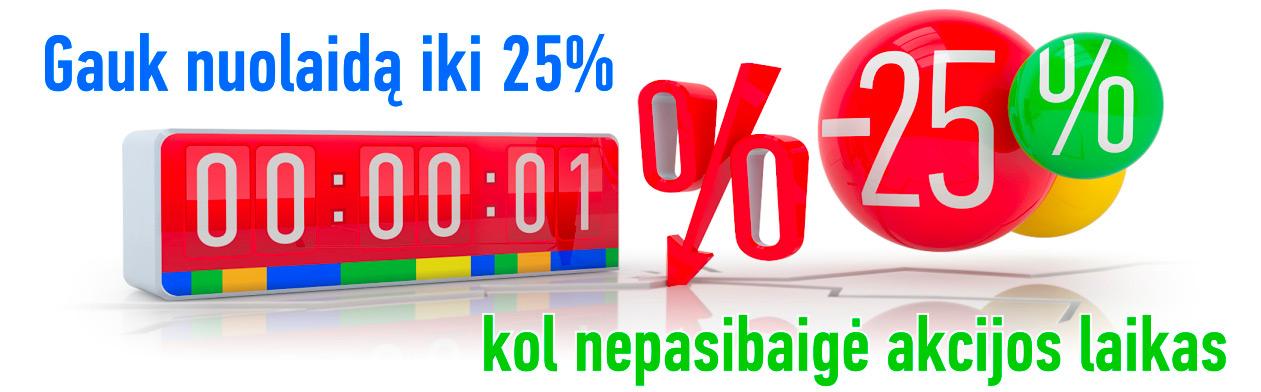 Internetinė parduotuvė akcijos